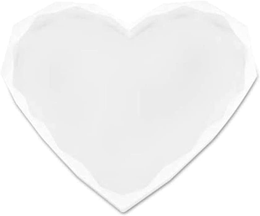 WDXIN Heart Resin Coaster Mold Edge C Diamond New Shipping Free Casting Ranking TOP11 Epoxy