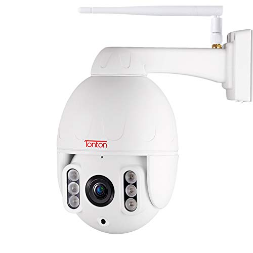 Tonton Full HD 1080P PTZ IP Dome Camera ONVIF 5X Optical Zoom