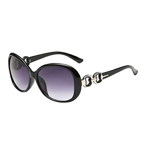 LUCKYCAT Metallrahmen Verspiegelt Linse Herren Damen Sonnenbrille Polarisierte Sonnenbrille UV400 Retro Vintage Brille für Herren und Damen