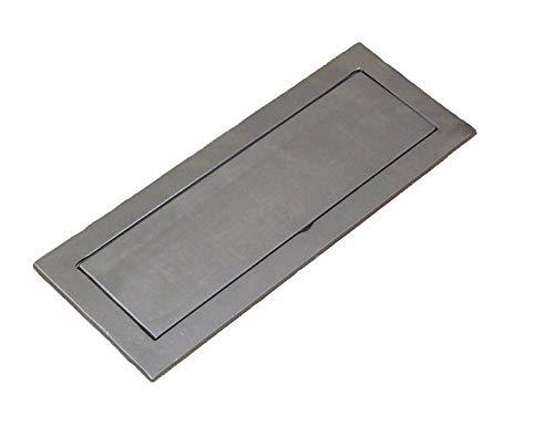 Schütte für Asche aus Gusseisen für Backofen Ofen Pizzaofen Brotbackofen Holzofen Steinofen | Maße: 195x505 mm