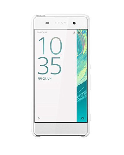 Sony Mobile Smart Style Hülle Case Cover SBC26 für Xperia XA - Weiß