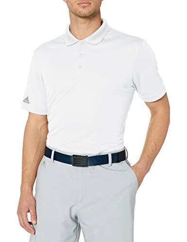 adidas Polo de Golf para Hombre (Modelo 2019), Hombre, Polo, TM3060S6, Blanco, XXL