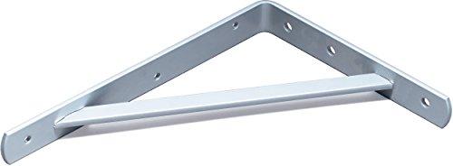 Element System Schwerlastkonsole Samson Halterung / Halterung (2er Pack), weißaluminium, 330x500 mm