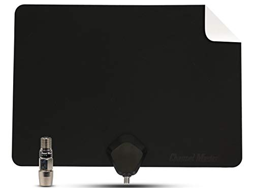 Channel Master FLATenna+ Amplified Indoor TV Antenna with Amplifier - Flat Dual Sided Black or White [CM-4001HDBWA] by Channel Master. Compare B0754WJ3FX related items.