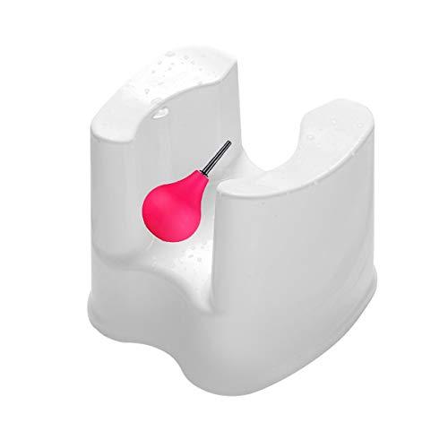 Duschhocker, einlaufset für darmeinlauf Benutzt für Intimdusche Analdusche Vaginaldusche Enema Nozzle Klistier Irrigator Duschstab Duschaufsatz Duschkopf