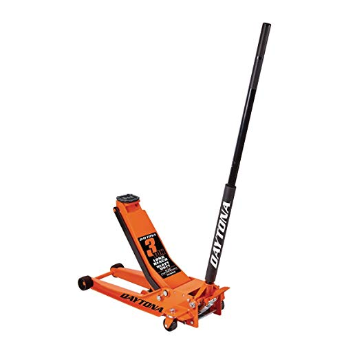Daytona 3 ton Long Reach Low Profile Steel Heavy Duty Floor Jack with Rapid Pump