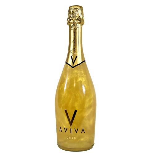 Aviva Gold - Colore Oro, Bevanda Alcolica Aromatizzata, Gradazione 5,5% 75CL