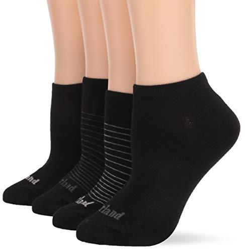 Timberland Damen 5-Pack No Show Socks Freizeitsocken, schwarz, Einheitsgröße