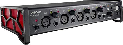 Tascam US-4x4HR 4 Mic 4 IN/4OUT Interfaz de audio USB versátil de...