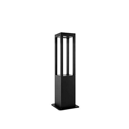 LEIKAS IP55 LED Cuadrado Luz de Columna para Exteriores Aluminio Fundido a...