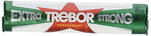 Trebor Extra Strong Mints Pack of 12 Rolls