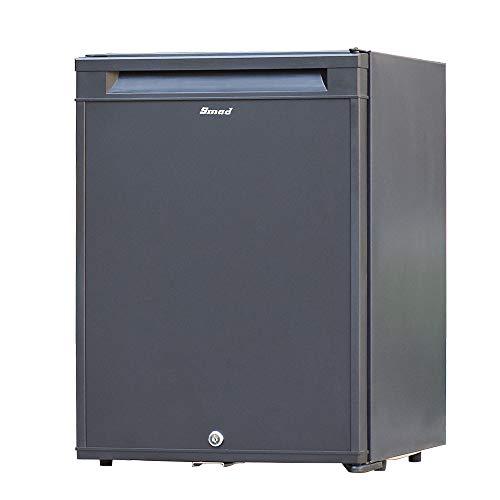 Smad No Noise Fridge 12 V Portable Mini Refrigerator with Lock 2-Way Fridge for Student...