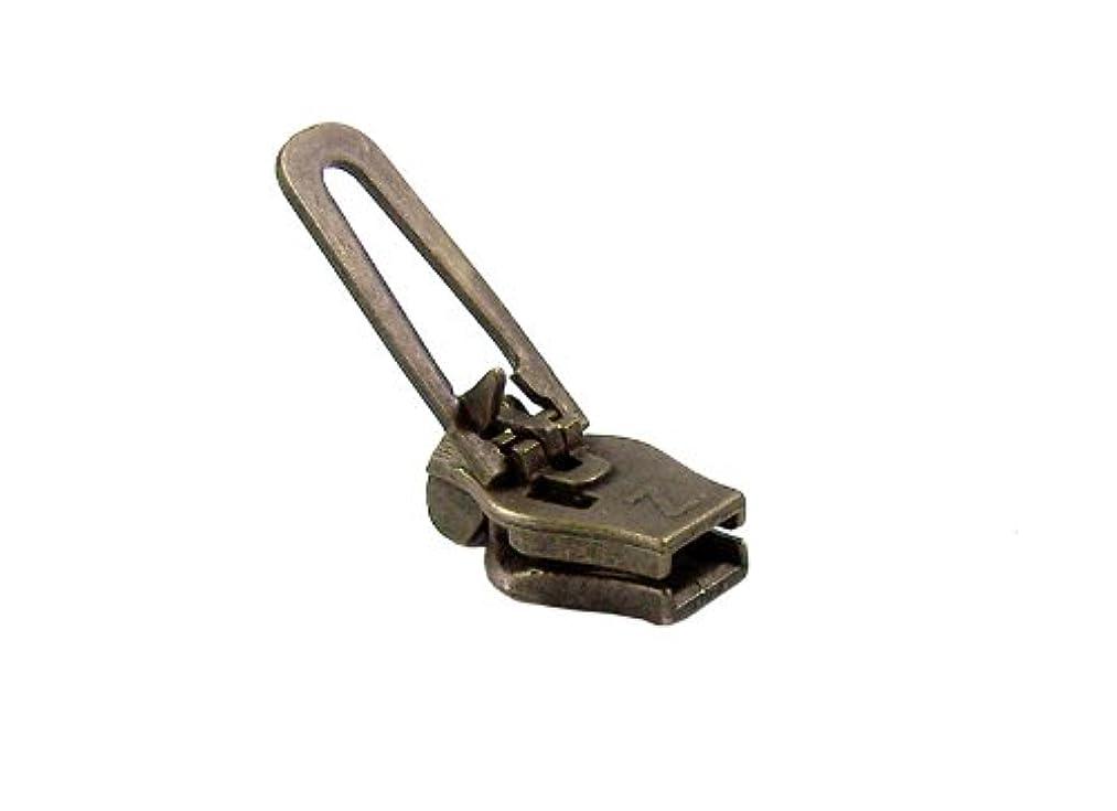 ZlideOn zipper 45c-2, old-brass