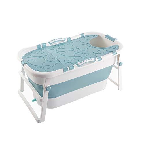 Adult Folding Bathtub, Foldable Baby Tub, Portable Bathtub, Household Plastic Hot Tub, Non-Slip...