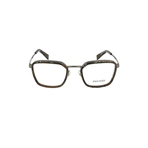 Alain Mikli Luxury Fashion Herren 2028002 Schwarz Acetat Brille | Jahreszeit Permanent