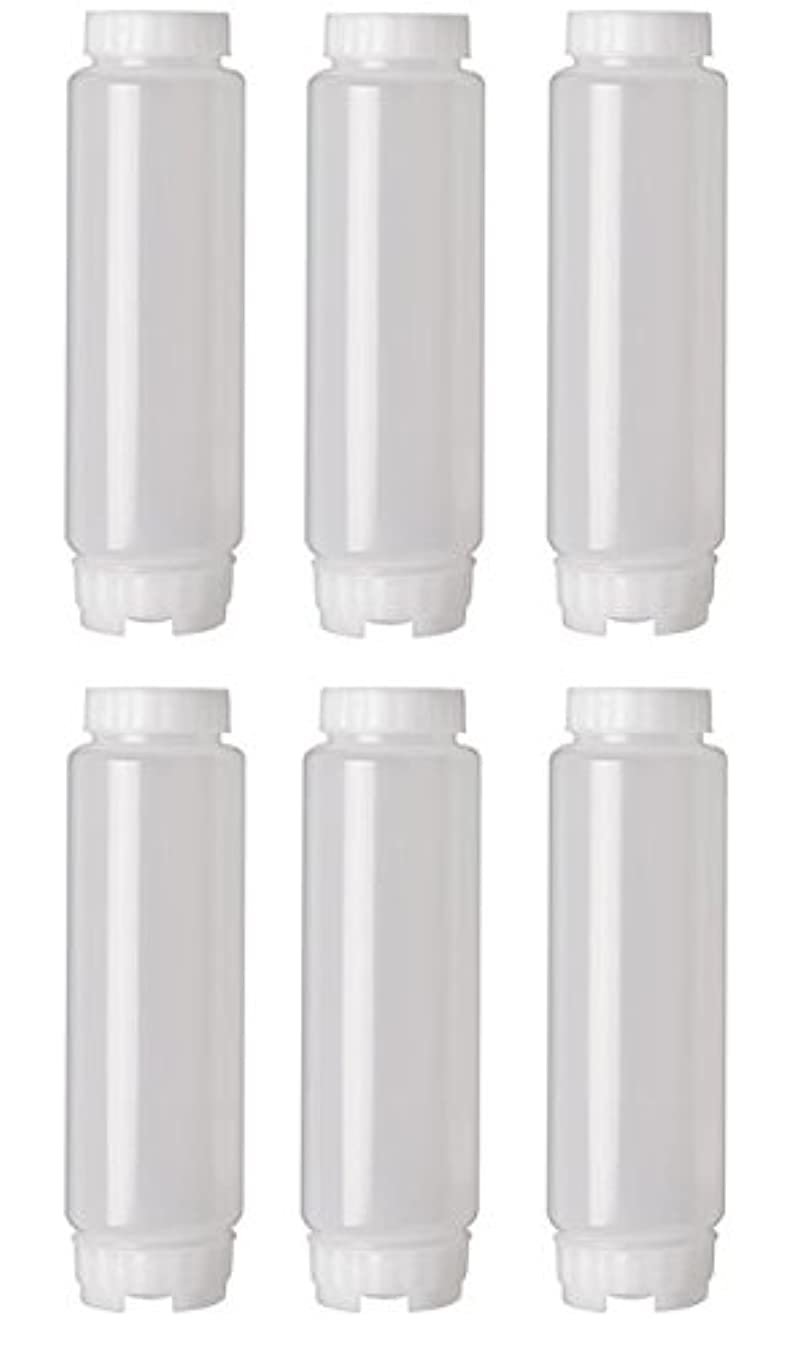 6 Pack FIFO 16 oz. Squeeze Bottles