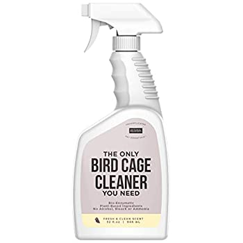Natural Rapport Spray Igienizzante Gabbia per Uccelli - The Only Bird Cage Cleaner You Need – Spray Gabbia Uccelli – Rimuove Naturalmente gli Escrementi – 946 ml