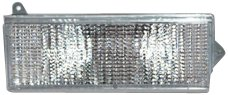 TYC 12-1537-01 Jeep Front Passenger Side Replacement Parking/Signal Lamp Assembly