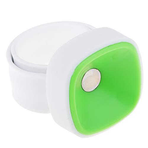 joyMerit Soporte Magnético Pinny para Muñeca Verde Y Amarillo, Surtido con Muñequera - Verde, Individual