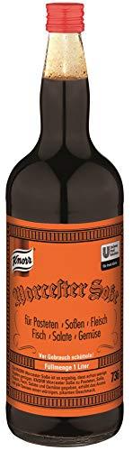 Knorr Worcester Soße (würziger, pikanter Geschmack) 1er Pack (1 x 1L)
