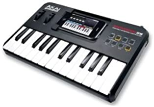 AKAI SYNTHSTATION 25 PIANO KEYBOARD FOR IPOD/IPHONE-Pack of 1