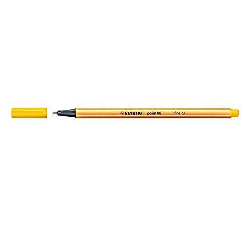 Stabilo 718664 0.4 mm Point 88 Felt-Tip Pen - Yellow