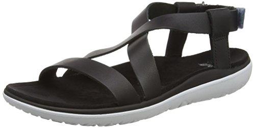 Teva Terra-Float Livia Lux W's Damen Sport- & Outdoor Sandalen, Schwarz (black 513), EU 36
