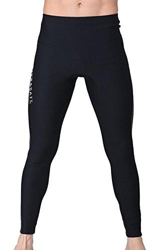 ウエットスーツ ロングパンツ メンズ 1.5mm ボレロ ウエットパンツ ネオプレーンパンツ サーフパンツ ウェットスーツ サーフィン Lサイズ ブラック