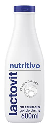 Lactovit - Gel de Ducha Nutritivo, para Pieles Normales y Secas - 600ml