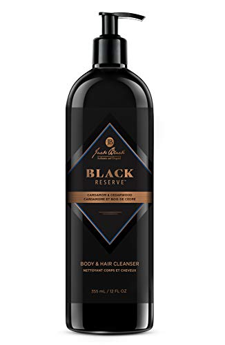 Jack Black - Black Reserve Body & Hair Cleanser With Cardamom & Cedarwood, 12 oz.