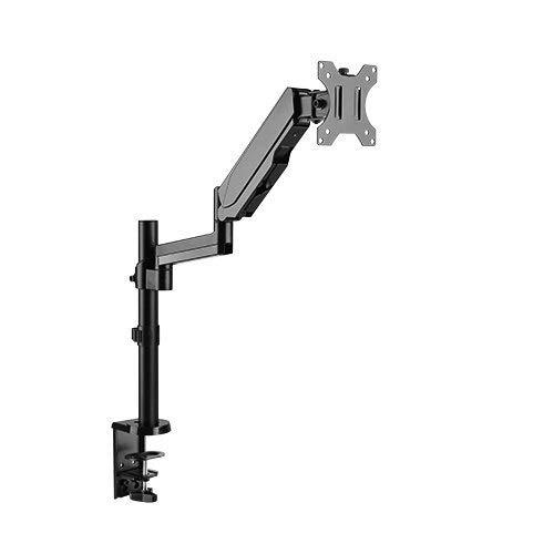 Soporte de mesa con muelle de gas para monitores LED y LCD d