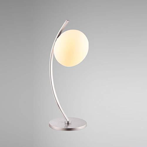 BXU-BG Lámparas de mesa, personalidad simple manera de la personalidad de la sala dormitorio lámpara de cabecera, lámpara creativa, Lámparas de luz de la noche de lectura (Color : A001)