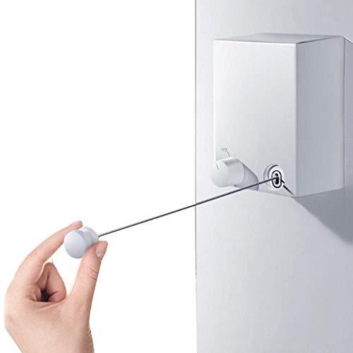 EAN Wandwaschlinie Einziehbare Wäscheleine im Innen- und Außenbereich Wäscheleine Wandinstallation Wasch- und TrockenmaschineHotelbad unsichtbare Wäscheleine