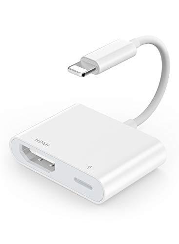YEHUA Adattatore HDMI Mobile Cavo HDMI Digitale AV 1080P Compatibile con Telefono SE/11/Pro Max/XR/X/8/7/6