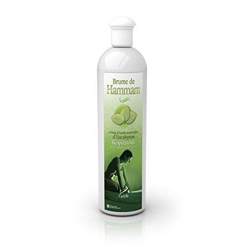 Camylle - Brume de Hammam Eukalyptus - Dampfbad-Emulsion aus Hochwertigen und Naturreinen Ätherischen Ölen - Atmungsaktiv Mit frischen und durchdringenden Aromen - 500ml