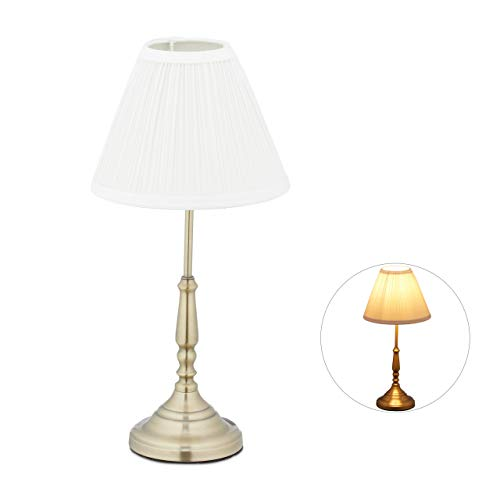 Lámparas De Mesa Salon Vintage lámparas de mesa salon  Marca Relaxdays