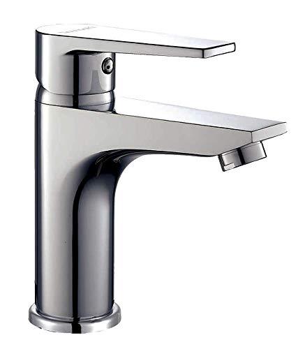 Kibath L456551 - Miscelatore monocomando per lavabo Denver, cromato lucido