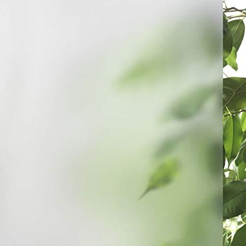 Glasdekor satiniert, Blickschutz für 3-teilige Duschen