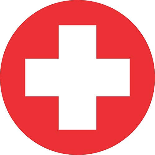 medical cross decal - 2
