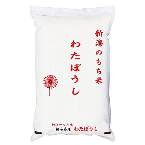 【精米】新潟県産 白米 もち米 わたぼうし 5kgx4袋 令和3年産 新米