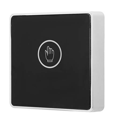 Botón de Salida de la Puerta, Interruptor de Puerta con Sensor de Infrarrojos, luz indicadora LED de Seguridad sin Contacto sin Contacto para el hogar de la Oficina