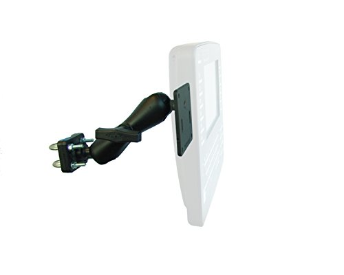 TouchStar IT000100/001 TS7000 korte arm buisvormig rechtop RAM Mount Kit, Zwart