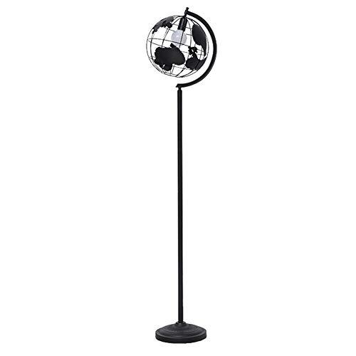 ZMLG Stehlampe Wohnzimmer, Moderne E27 Standlampe mit Fußschalter Creative Globus Lampenschirm Leselampe Kinder für Schlafzimmer Korridor Lesezimmer