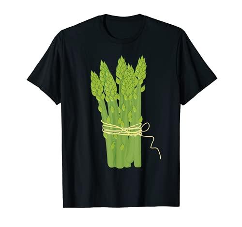 Esprragos Lazy DIY Halloween Disfraz Divertido Vegano Vegetariano Camiseta