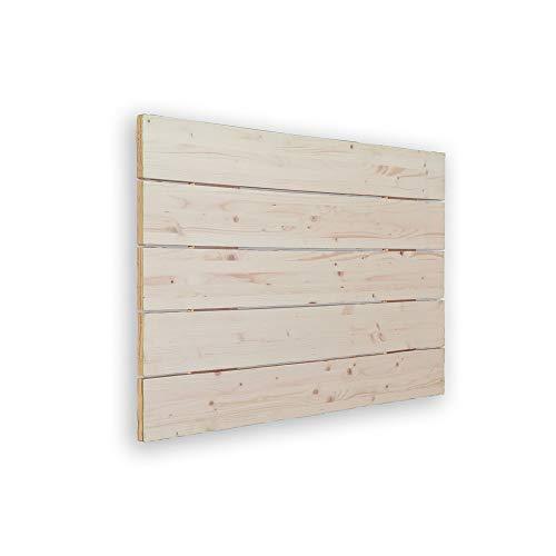 Cabeceros Madera Blanco 90 cabeceros madera  Marca SILCAR HOME
