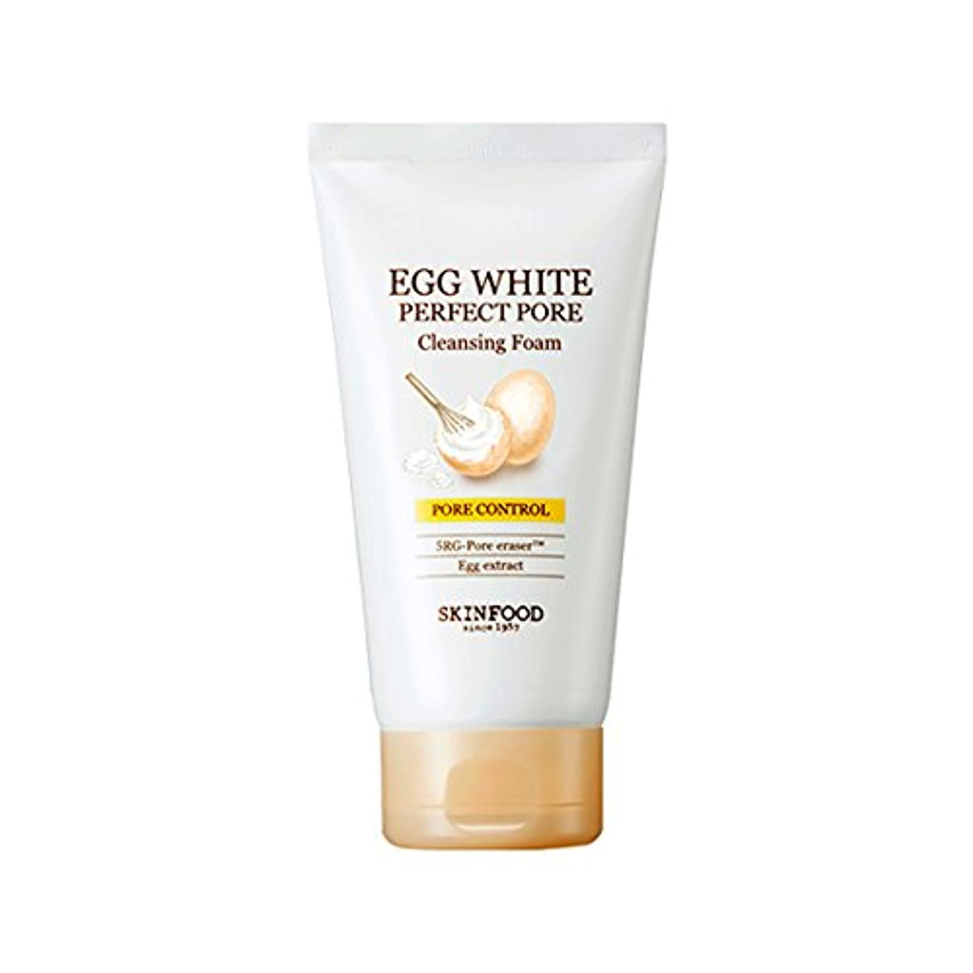 小説家神社フェンス[2017 New] SKINFOOD Egg White Perfect Pore Cleansing Foam 150ml/スキンフード エッグ ホワイト パーフェクト ポア クレンジング フォーム 150ml [並行輸入品]