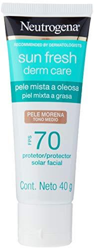 Neutrogena Sun Fresh Oily Skin Pele Morena Fps 70, Neutrogena