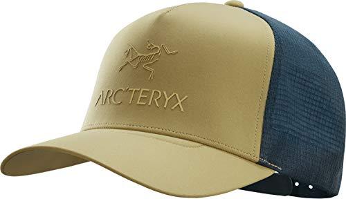 Arcteryx Logo Trucker Cap, elk/Labyrinth