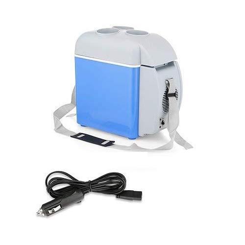 outingStarcase Coche más Fresco 7.5L-Car Nevera portátil Coche Caliente y frío de Doble Uso Mini refrigerador de calefacción y refrigeración Cuadro Titular con la Taza