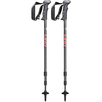 Leki Trail Trekking Stick-White, 110-145 cm